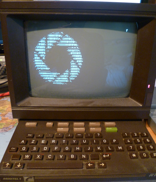 Illustration Minitel
