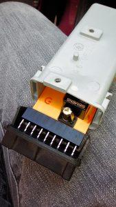 L'intérieur du module se dévoile