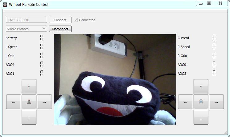 le logiciel WifiBot Control