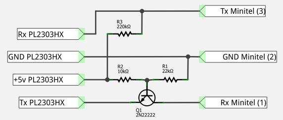 Illustration circuit adaptation