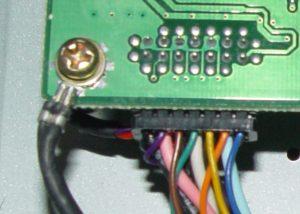 Connecteur VGA sur la carte video